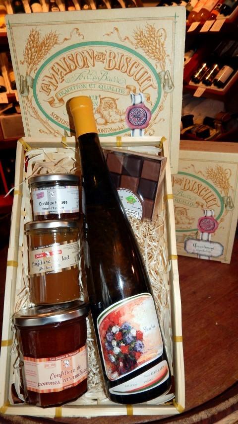 Gut bekannt La Hallette aux vins Panier Garni Idée Cadeau - La Hallette aux vins ET63