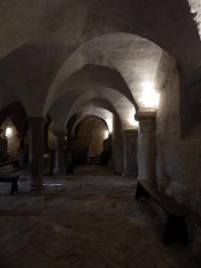 vézelay la crypte